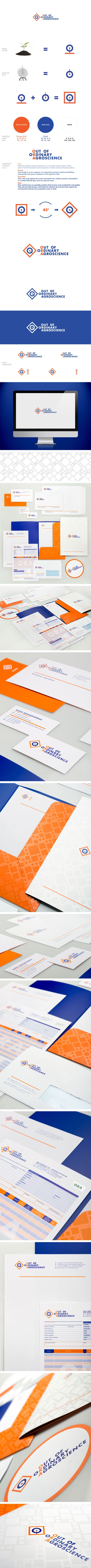 ORA identity by the @Comeback Studio