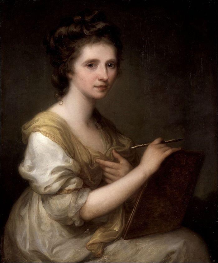 Angelica Kauffman · Autoritratto · 1770-75 · Saltram House · Plympton