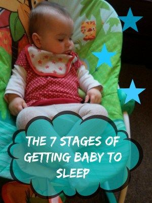 The 7 Stages of Getting Baby to Sleep