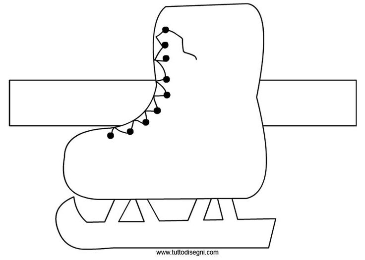 schaats knutselen