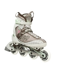 I bought these K2 rollerblades last year to put a little more variety into my workouts. I have not used them very much. I am really fast but have a hard time stopping
