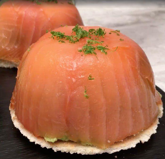Cúpula de Salmón y Aguacate, una excelente opción para la cena, compartenos como te quedó. Curry Japones de nuestros amigos Cocínate el mundo