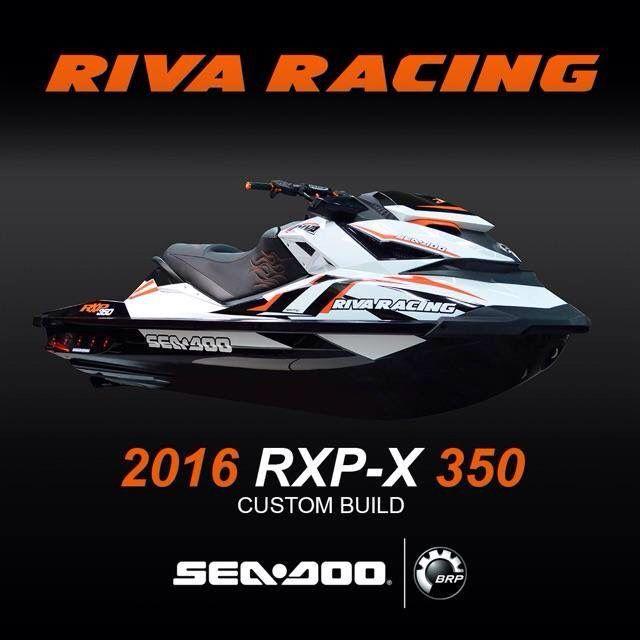 Sea Doo Riva Rxp X 350 2016 Boy Toys Jet Ski Motorbikes Performance Parts