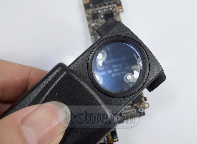 Superb Pull type Jewelry Magnifier with Led Light Magnification x IC BGA Reballing Repair Tool Lupas Pinterest Tools Chang ue and LED