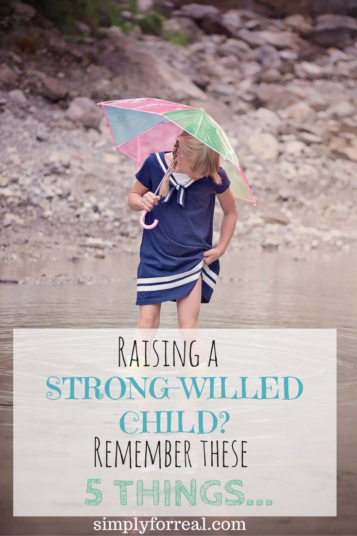 Do you have a strong-willed child? If you do, you know that raising them is not for the faint of heart. It is challenging and emotionally draining, but remembering these five things can make it a little easier.
