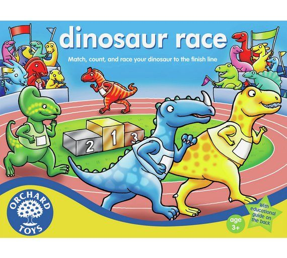 Buy Dinosaur Race Board Game at Argos.co.uk, visit Argos.co.uk to shop online for Board games, Board games, jigsaws and puzzles, Toys