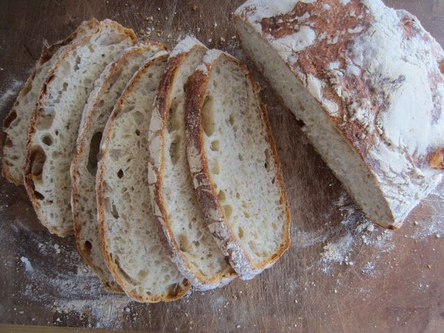 Parmesan and black pepper bread. Recepie on my website