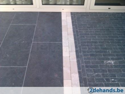 Tuintegels chinees hardsteen 100x50x3 cm gezoet te koop 2dehands be