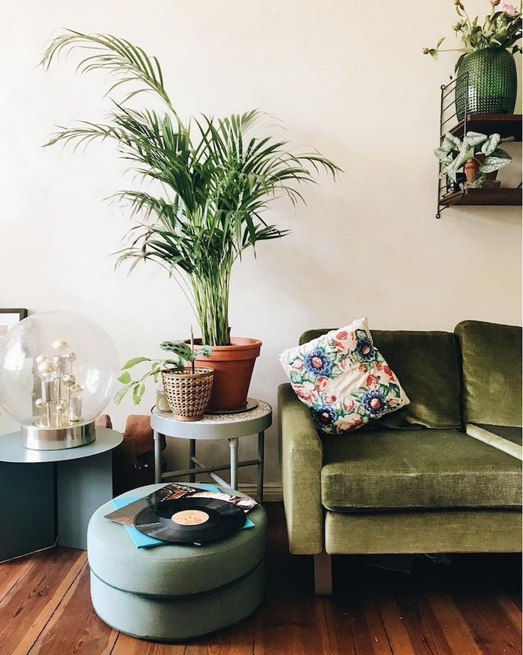 My Scandinavian Home Theo S Charming Bohemian Style Abode In Berlin Green Couch Living Room Living Room Decor Apartment Bohemian Style Living Room