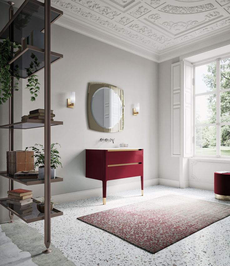 Arredobagno ART by Puntotre #bagno #arredobagno #design #interiors #home #bathroom