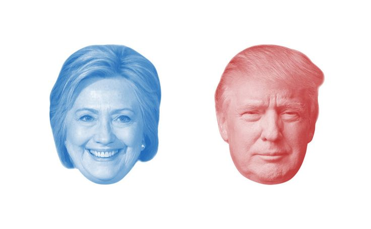 Get the latest national and state polls on the presidential election between Hillary Clinton and Donald J. Trump.