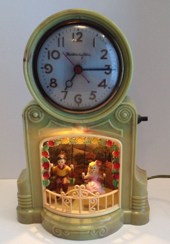 Mastercrafters Bakelite Electric Clock with by MySweetMadison, $198.00