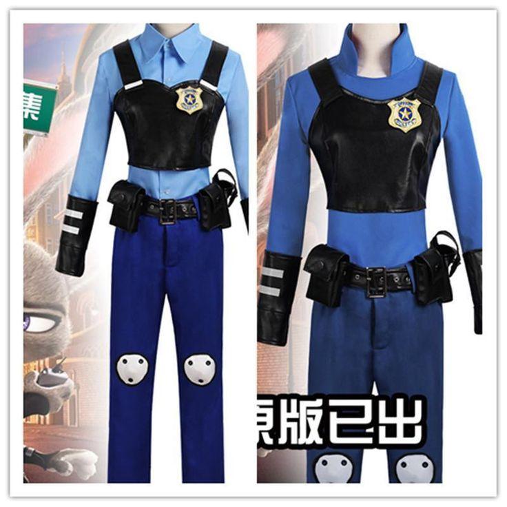 ZOOTOPIA officer Judy Hopps bunny cosplay costume police uniform customize  #Unbranded #Uniform