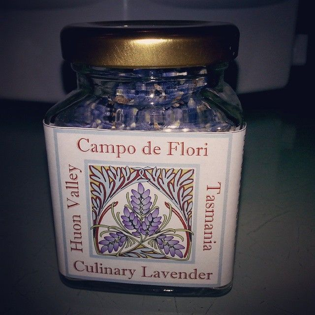 Campo de Flori Culinary Lavender. to be used in Cooking. Imperial Gem hand picked at its peak and dried in our drying sheds for two weeks, hand stripped and packed on the farm.