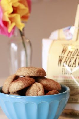 Can't wait to try these!! Whole wheat snickerdoodles:)