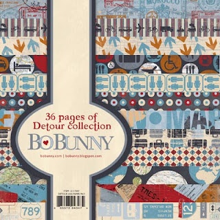 Bo Bunny - Detour Collection #chashow #scrapbooking
