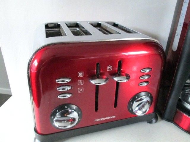 red coffee maker and toaster toaster red coffee image 1 of 5 red coffee maker and toaster