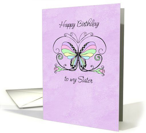Happy #Birthday #sister #card (207209) sold to customer in  New York, United States