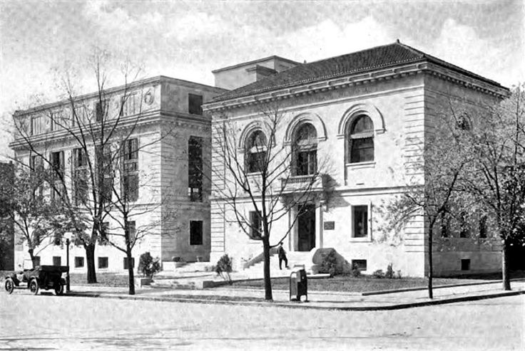 The National Geographic Society offices in 1929. They would have looked very much the same in the 1930s when Louise Arner Boyd visited them.