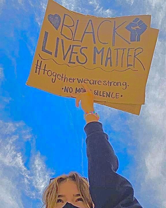 Black lives matter collage wallpaper