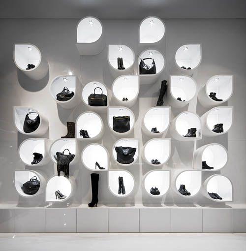 Capsula the Elegant Fashion Store Design, Budapest