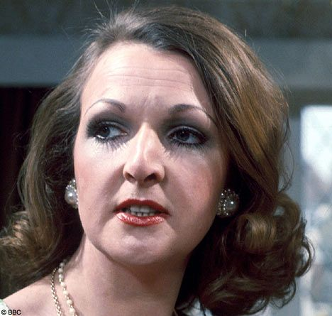 If Aunty has a face it's Penelope Keith