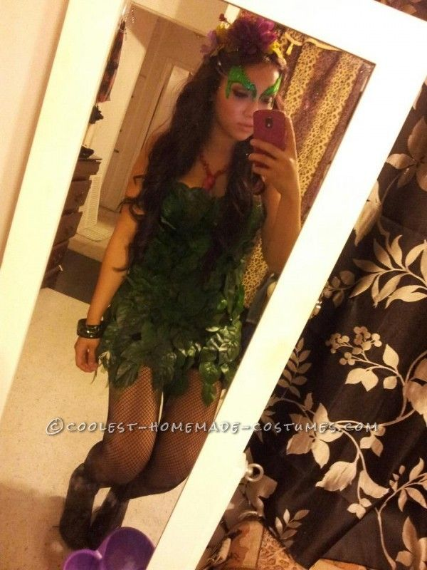 Quick and Easy Poison Ivy Costume ...This website is the Pinterest of birthday cakes