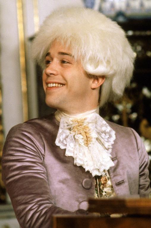 Tom Hulce as Wolfgang Amadeus Mozart in Amadeus