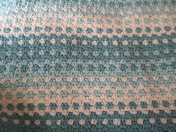 83 Best Crochet Baby Granny Stripe Blankets Images On Pinterest