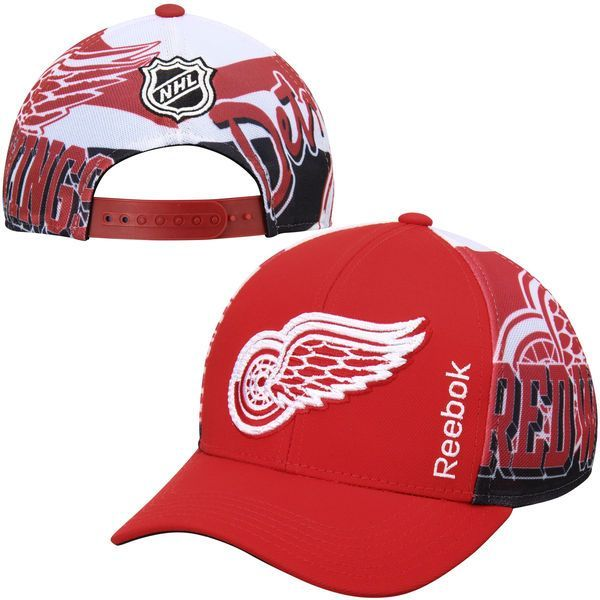 Detroit Red Wings Youth Stanley Cup Playoffs Adjustable Hat - Red - $23.99
