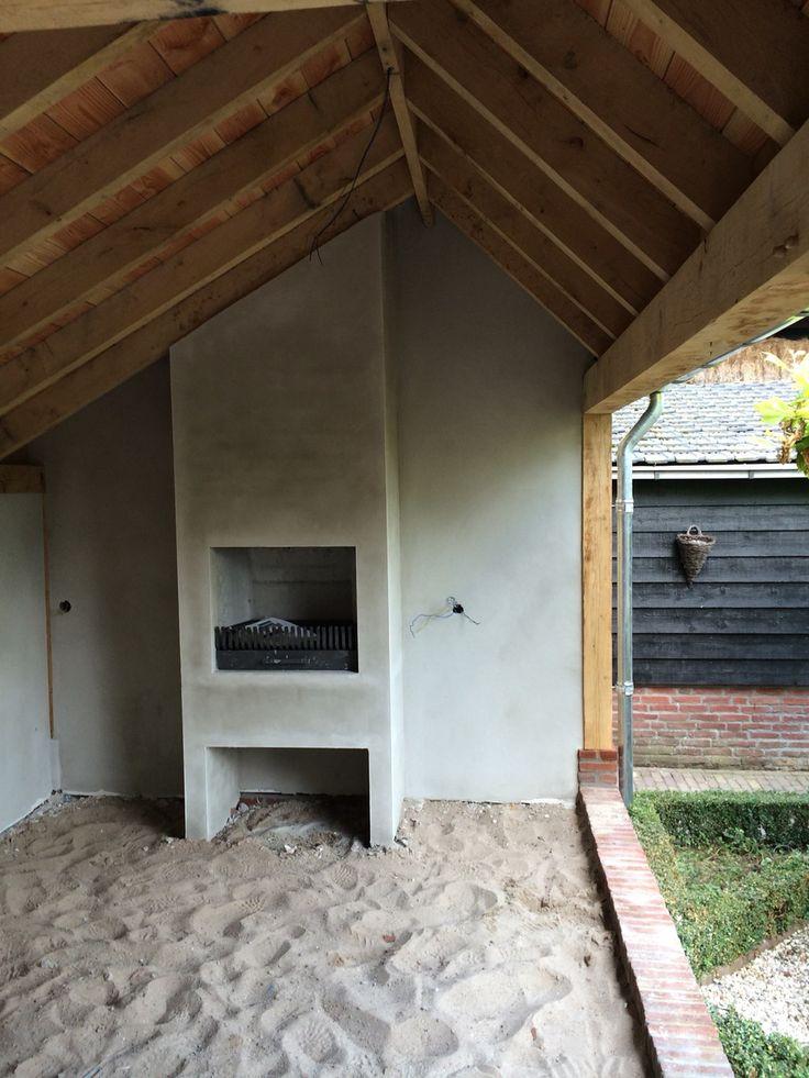 Leuk idee voor ons tuinhuis