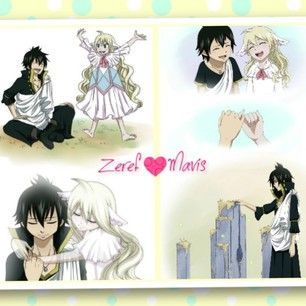 fairy tail relationship between zeref and mavis family