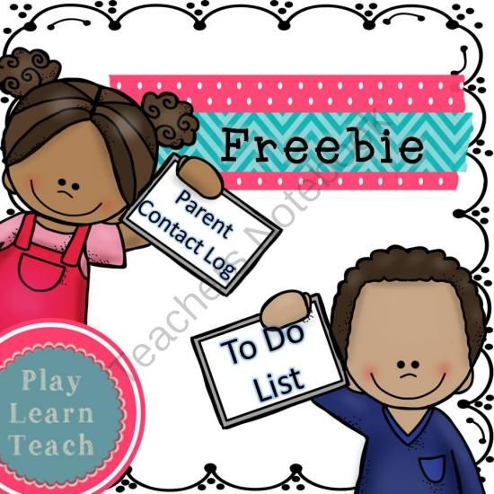 Free - Parent Contact Log & To Do List from PlayLearnTeach-MsDenise on TeachersNotebook.com -  (2 pages)  - Parent Contact Log & To Do List is a forever freebie. Keep track of parent contacts (phone, text, email, conference, home visit).
