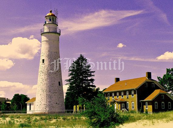 Great Lakes Lighthouse Photo Print by FB Smith #framedgallery