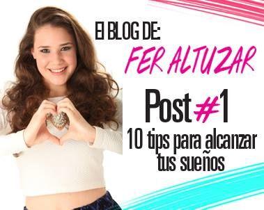 ¡Estamos de estreno! No te pierdas el blog de Fer Altuzar (¡es toda una Vinestar!) Checa su primer post en-> http://www.seventeenenespanol.com/test-mas/blog/paulina/705202/10-consejos-alcanzar-tus-suenos/