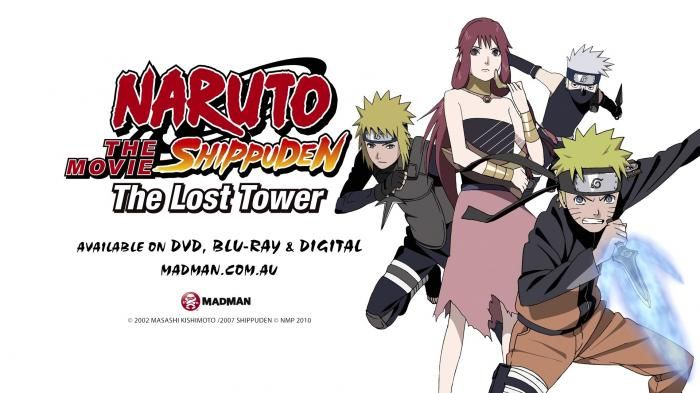 Naruto The Movie The Lost Tower - Aksi Anak Hokage Keempat Jadi Petualang Waktu…