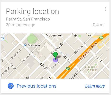 Google Now pode te ajudar a encontrar onde parou seu carro | #GoogleNow
