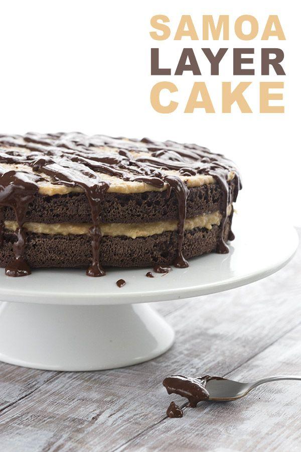 Samoa Cake All Day I Dream About Food