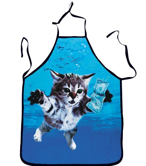 Find More Aprons Information about Top Selling 2015 Blue Color Funny 3D Apron Novelty Cooking Wear Cute Swimming Cat Print Dinner Novelty Aprons,High Quality novelty stopwatch,China novelty movie t shirts Suppliers, Cheap apron uniform from Show International makeup Co.,Ltd. on Aliexpress.com