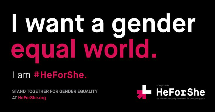 What we share is more powerful than what divides us. Stand together for gender equality at #HeForShe.