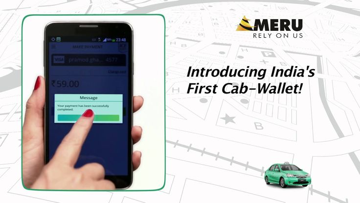 Introducing New Meru Cabs App  #AppPeCab