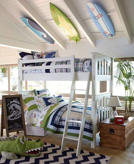 well hello awesome bunk beds! #kids #bedroom #bunkbeds