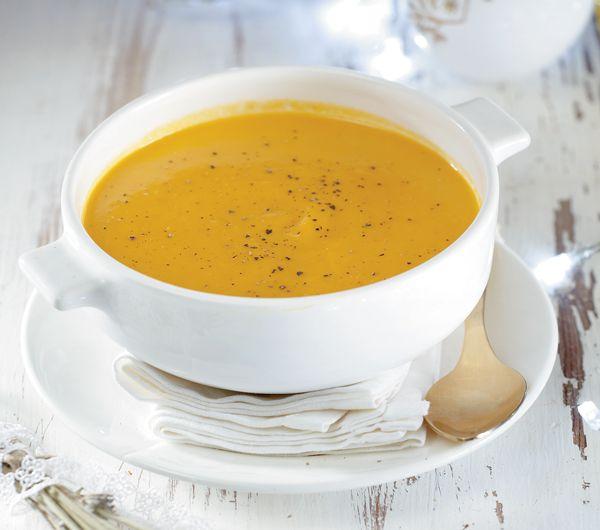 Σούπα με καρότο, τζίντζερ και λεβάντα