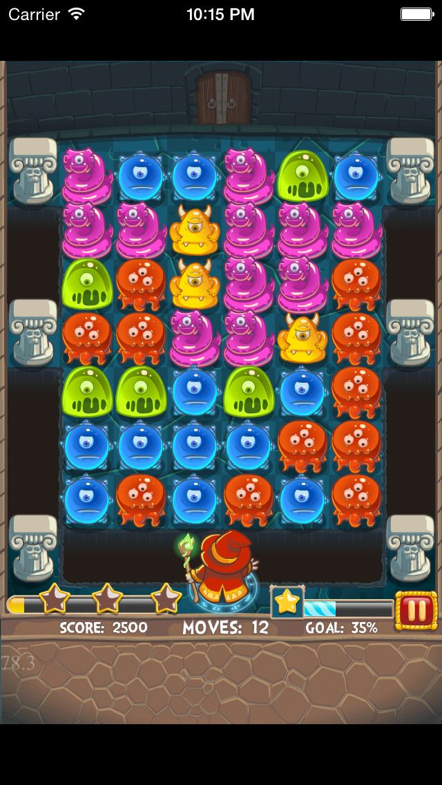 App Shopper: Mana Gummy Drop Match-3 Link-----Best Free Gummy Match 3 Puzzle Game! (Games)