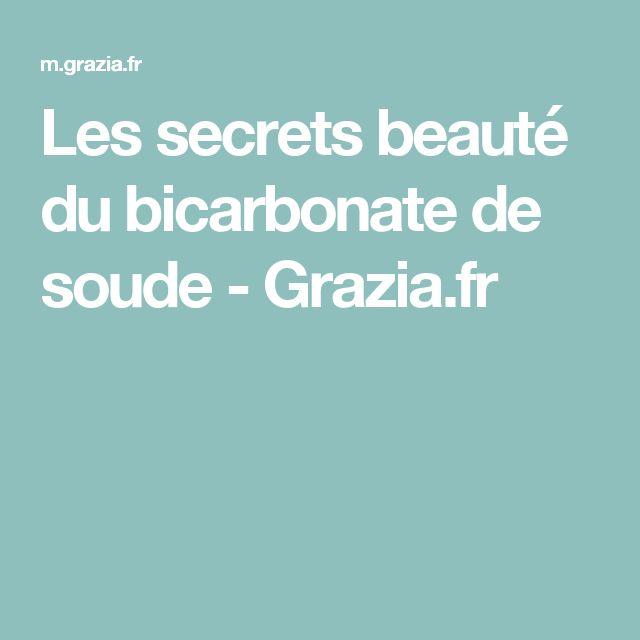 Les secrets beauté du bicarbonate de soude - Grazia.fr
