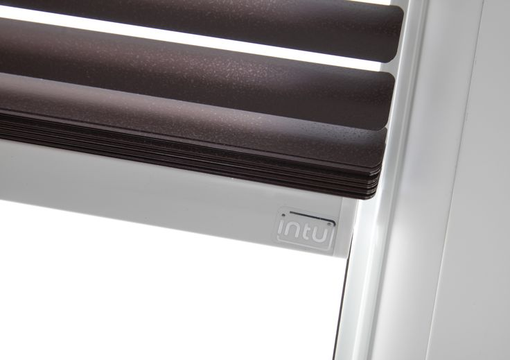 Purple Intu Venetian blinds from Apollo Blinds.