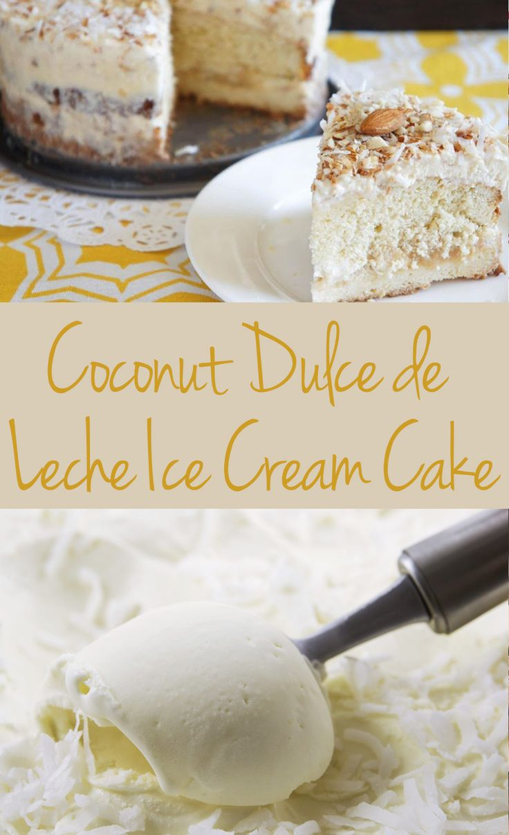 ... Crave-Worthy Cakes on Pinterest | Spanish, Coconut and Ice cream cakes