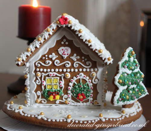 """The gingerbread house became popular in Germany after the Brothers Grimm published their fariy tale collection which included """"Hansel and Gretel"""" in the 19th century. Early German settlers brought this lebkuchenhaeusle  (gingerbread house) tradition to the Americas. Gingerbread houses never caught on in Britain as they did in North America, where some extraordinary examples can be found. But they do exist in other parts of Europe."""