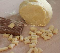Gnocchetti all'acqua cotta con farina di semola rimacinata blog il mio saper fare