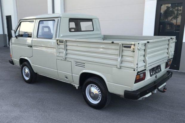 No Reserve Original Owner 1988 Volkswagen T3 Transporter Doka In 2020 Volkswagen Classic Cars Online The Originals